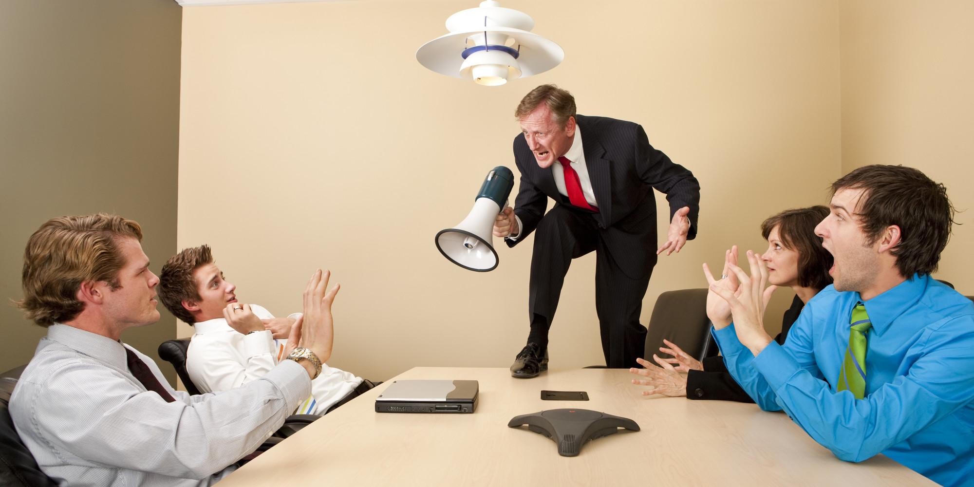 Как сделать плохо плохому начальнику
