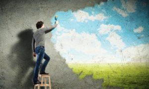 Мир творца внешне трудный и внутренне сложный