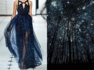 Модельер Лилия Худякова создала потрясающие коллажи для проекта Fashion & Nature
