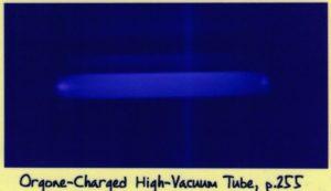 Свечение оргоной энергии в вакууме