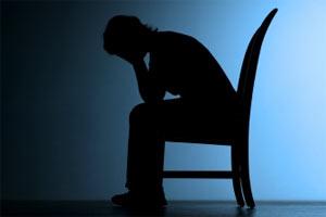 депрессия силуэт